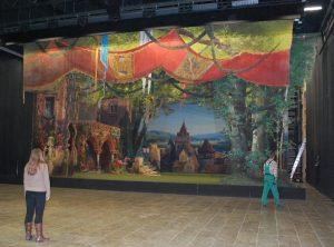 Historische Theaterkulisse, AKR PRACHER 2021